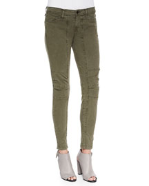 Ginger Patchwork Utility Pants, Jungle