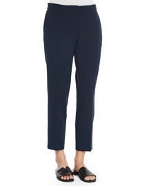 Padra Cropped Crepe Pants