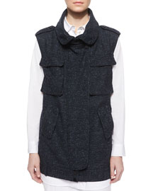 Kenyon Long Tweed Vest