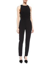 Greg Buckled-Bodice Jumpsuit