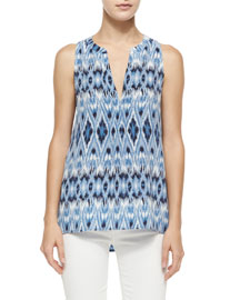 Aruna Printed Sleeveless Top