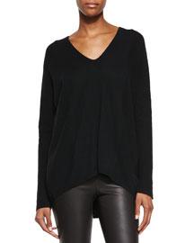 Directional Rib Cashmere Sweater