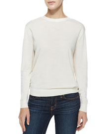 Karinalee Preen V-Back Long-Sleeve Top