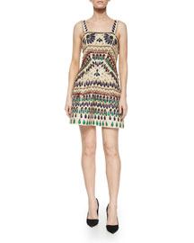 Fowler Beaded Embroidered Dress