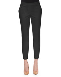 Thaniel Cropped Twill Slim Pants