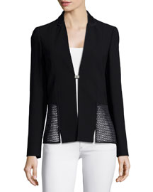 Marguerite Jacket W/ Mesh
