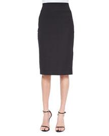 Cammie Cotton-Blend Pencil Skirt