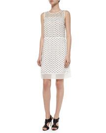 Abriela Embellished Dress, Ivory