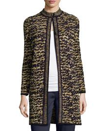 Knit Boucle Topper Jacket