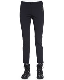 Skinny Stretch Pants, Black