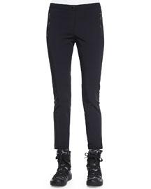 Skinny Stretch Pants, Black