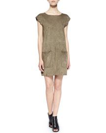 Maroone Suede Dress