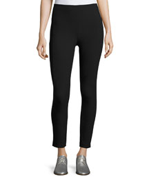Simone Stretch Ankle Pants, Black