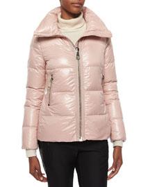 Joux High-Neck Puffer Jacket