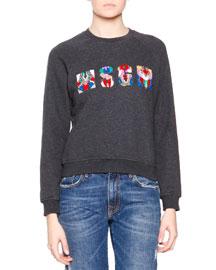 MSGM Logo-Center Sweater