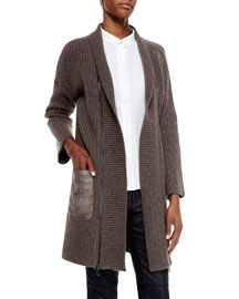 Perry Horizon Long Cashmere Sweater