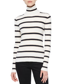 Ollie Striped Turtleneck Sweater