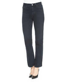 Revolution Cropped Jeans, Sloe Black