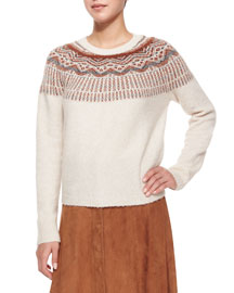 Jehannon Printed Sweater