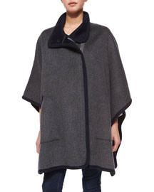Kenzie Double-Face Wool Coat