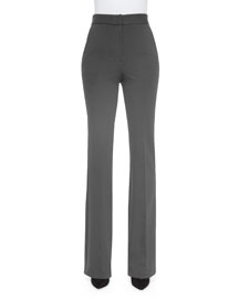 Garetto Fixture Ponte Pants, Charcoal