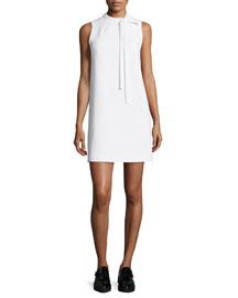 Nurita Sleeveless Tie-Neck Dress