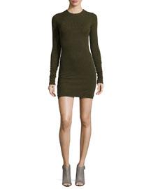 Ferris Long-Sleeve Knit Sweaterdress