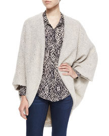 Chunky Knit Cocoon Sweater