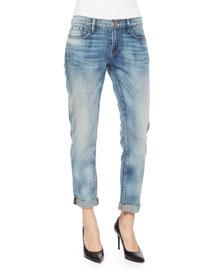Le Garcon Faded Boyfriend Jeans, Starry Night