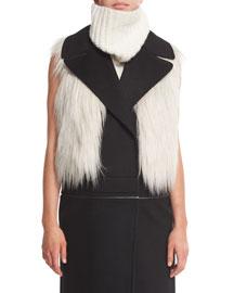 Lilian Faux-Fur Vest