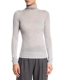 Delfina Turtleneck Cashmere Sweater