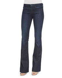 Dark-Wash Flared Jeans