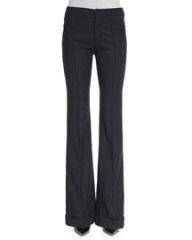 Bailee Flared-Leg Pants