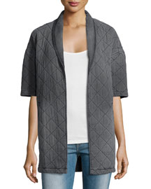 The Quilted Car Coat, Analog