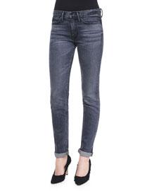 Straight Slim Whiskered Jeans