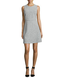 Raneid Sleeveless A-Line Dress, Light Heather