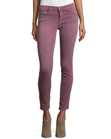 The Stiletto Skinny Cropped Jeans, Grapevine