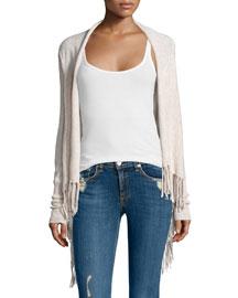 Godarni Long-Sleeve Cashmere Sweater, Oatmeal