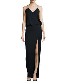 Kora Sleeveless Dress, Black