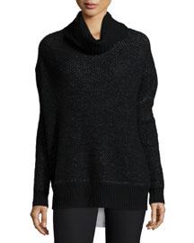 Alizon Honeycomb-Stitch Sweater