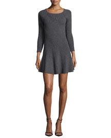 Didiere 3/4-Sleeve Dress