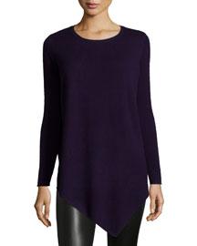 Tambrel Asymmetric-Hem Sweater