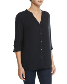 Ilari Button-Down Top