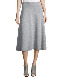 Le Midi A-Line Skirt, Gris