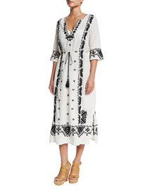 Liana Printed Caftan Dress