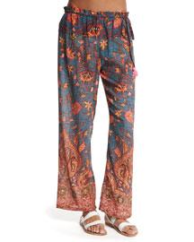 Niara Printed Coverup Pants