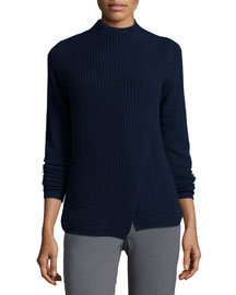 Hadley Wool-Blend Mock-Neck Sweater