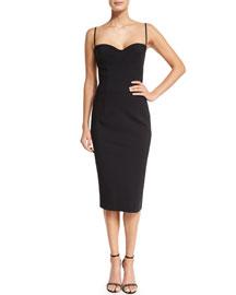 Dionella Spaghetti Strap Sweetheart Cocktail Dress