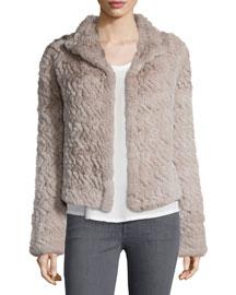 Worley Rabbit Fur Coat