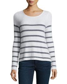 Elder Textured Striped Sweater